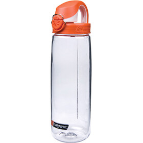 Nalgene Flaska OTF 0,7l Tritan Clear/Orange